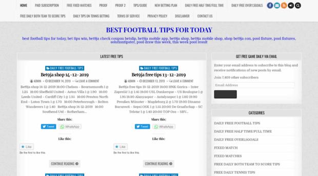 runbets com - BEST FOOTBALL TIPS FOR TODAY -    - Run Bet S