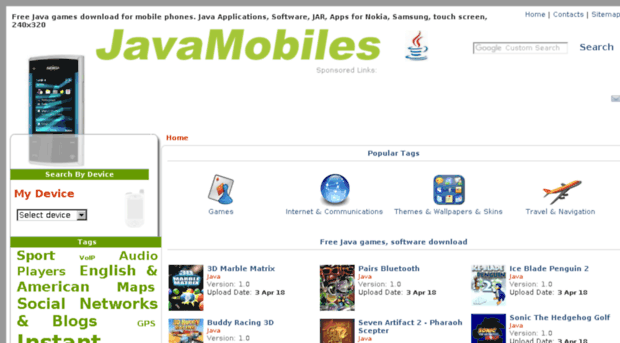 samsung s3802 java games free download