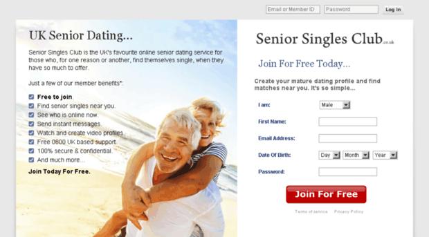 100 free online senior dating