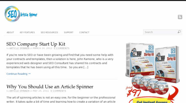 Article spinner for mac