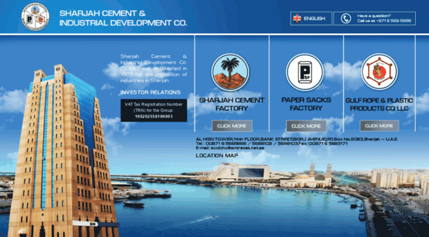 cement industry in uae