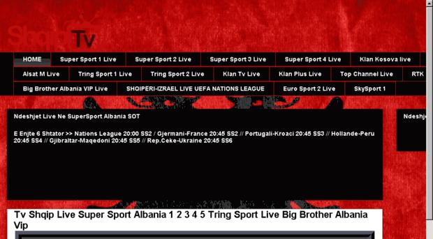 sport shqip live