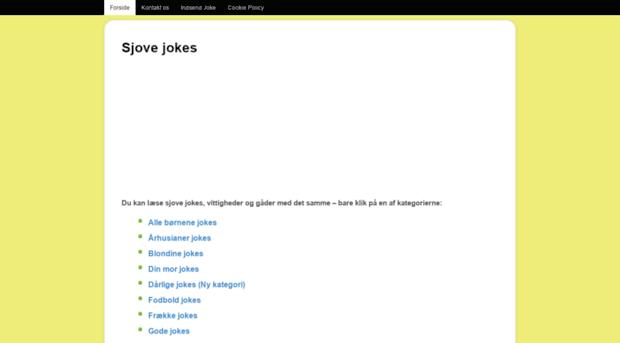 sjove jokes om kvinder