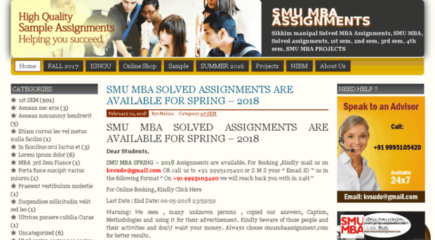 smu solved assignments