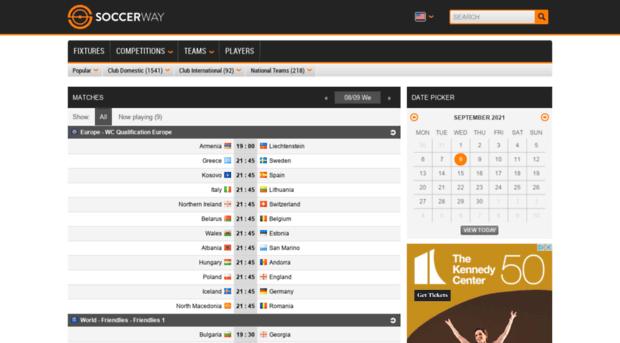 soccerway mobi - Soccer - Soccerway mobi - Resu    - Soccerway