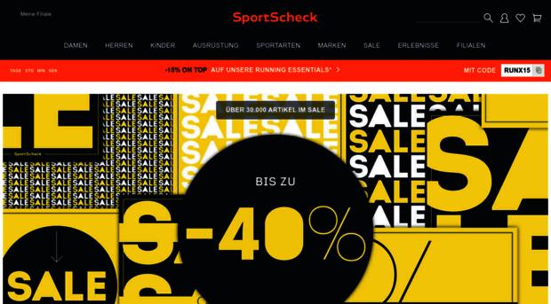 Sportscheck online
