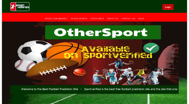 sportverified com SPORT VERIFIED : Best Football Prediction Site