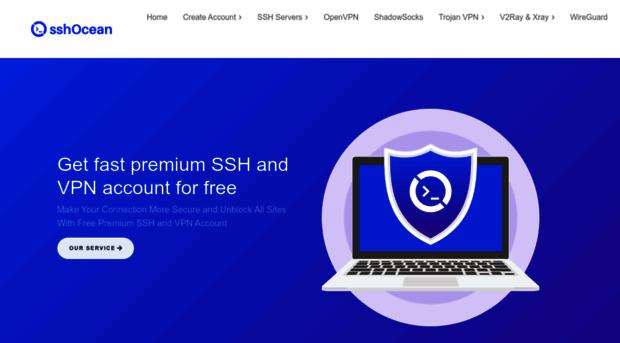 sshocean com SSHOcean - Best Premium SSH for SSL/TLS