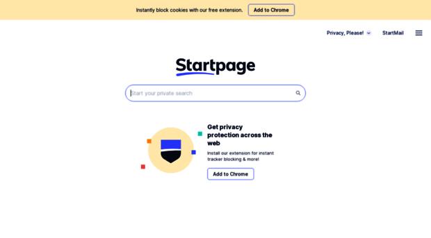 Startpage herunterladen
