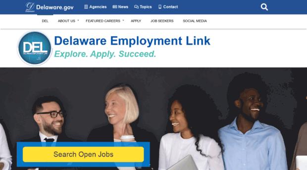 statejobs delaware gov - State of Delaware - Delaware E