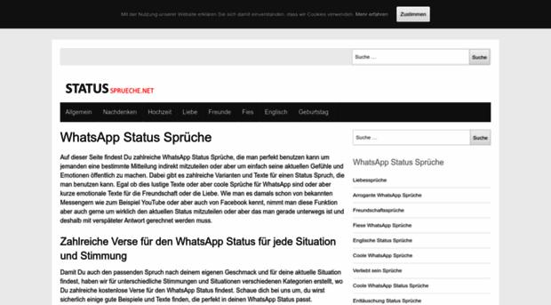 Whatsapp Statusmeldungen Whatsapp Status Sprche Wofr Ist