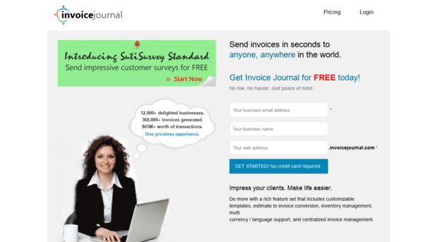 Invoice Journal  Create and Send Invoices Online  Online