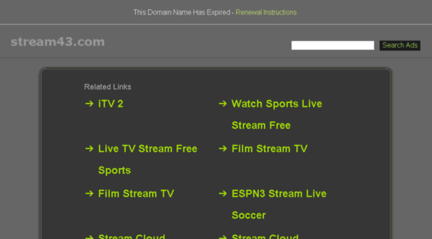 streamcloud search