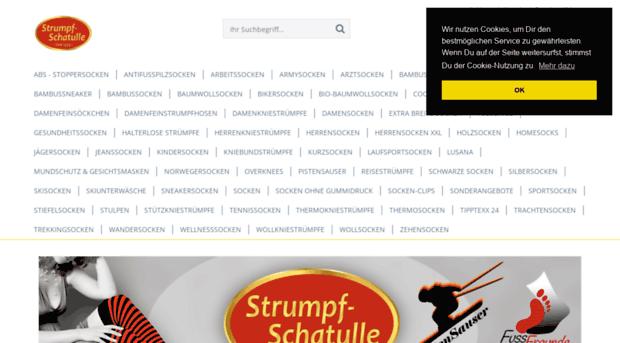 sports shoes 649e7 e19d4 strumpf-schatulle-shop.de - Strumpf-Schatulle - Strumpf ...