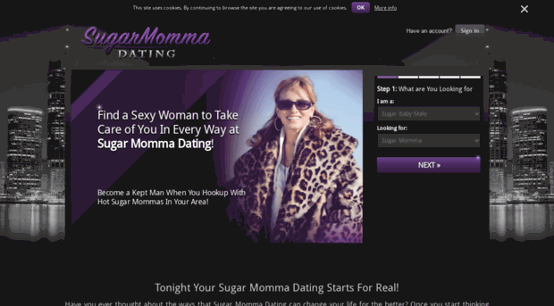 The best sugar momma club for seeking sugar mommas, sugar