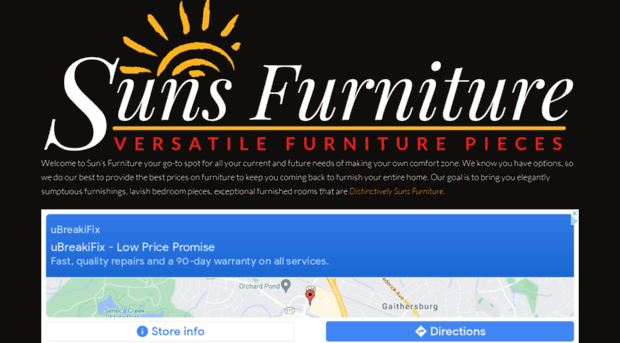 Sunsfurniture Com Suns Furniture Wholesale Furniture To The Public