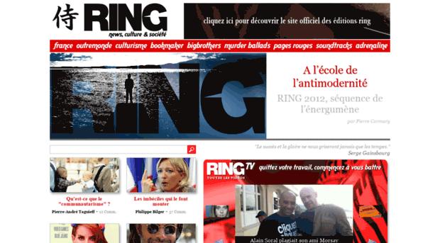 ring magazine d 39 actualit d surle ring. Black Bedroom Furniture Sets. Home Design Ideas
