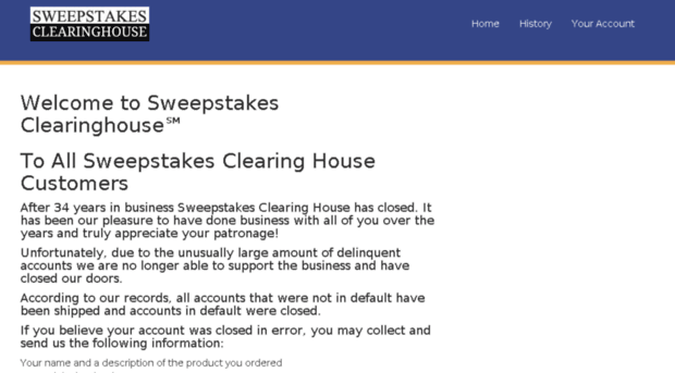 Sweepstakes clearinghouse images