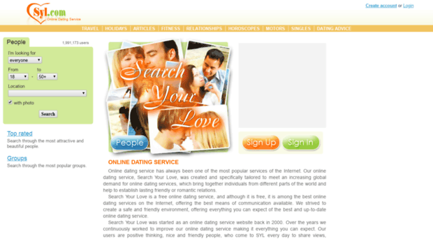 Affinity dating site