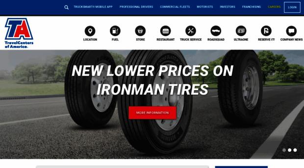Ta Petro Com >> Ta Petro Com Travelcenters Of America Ta Petro