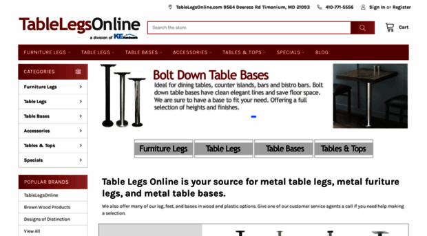 Beautiful Tablelegsonline.com   Buy Table Legs Online: Metal L...   Table Legs Online