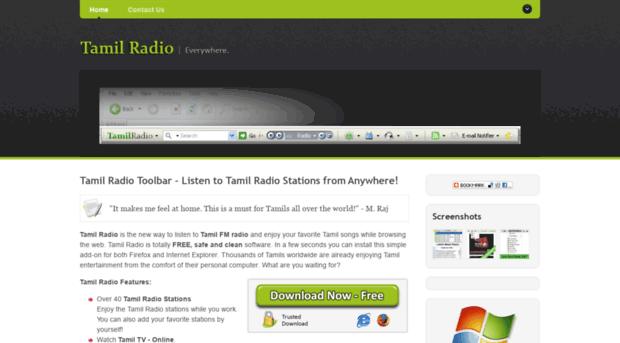 tamil-radio com - Tamil Radio - Listen to Live T    - Tamil