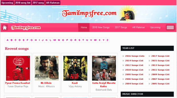 tamilmp3page com - tamil mp3 Songs Download on ta    - Tamil Mp3 Page
