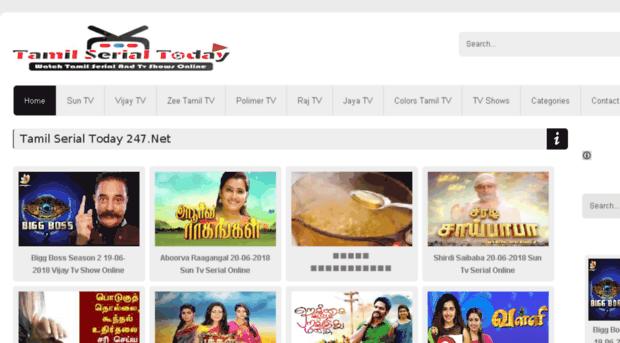 tamilserialtoday org Tamil Serial Today 247 Net | Watch Tamil