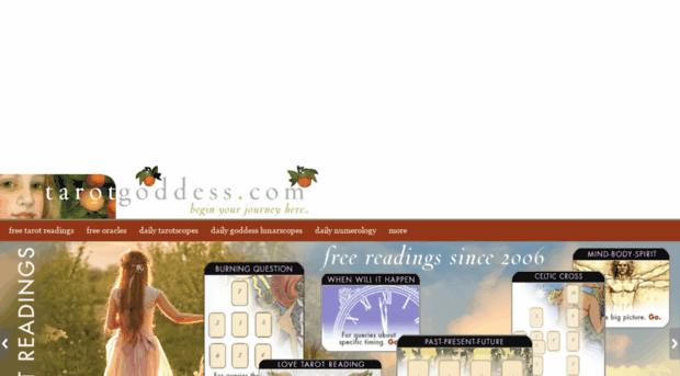 tarotgoddess com - TarotGoddess: Free Online Taro    - Tarot Goddess