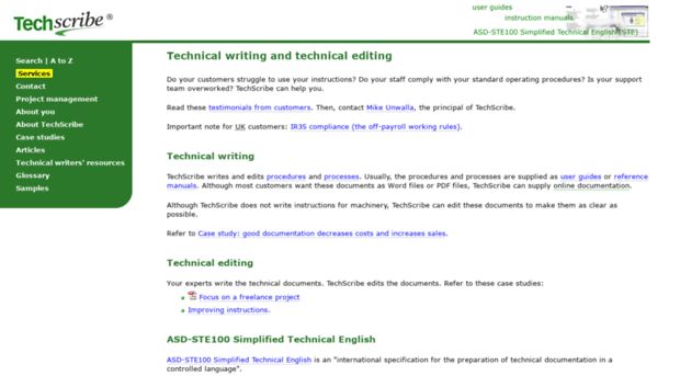 technical writing terms A new glossary is posted - technical writing terms every technical writer should know click here to read it.