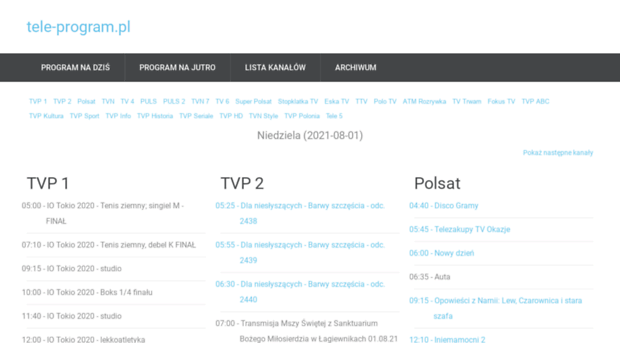 Tvp 2 program tv