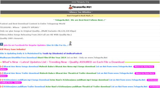telugu4u net - Welcome to nginx! - Telugu 4 U