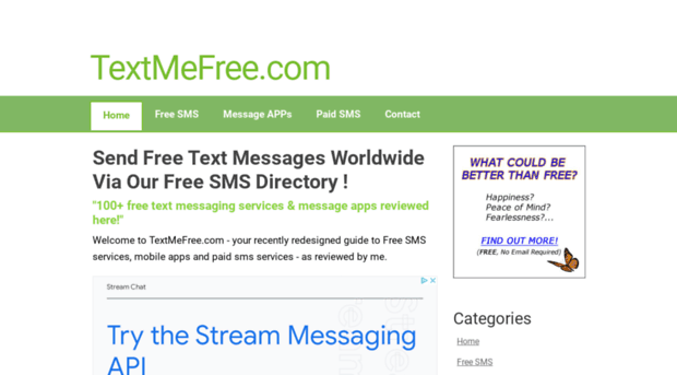 textmefree com - Free SMS Text Messaging Servic    - Text Me Free
