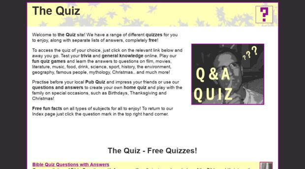 Fun Trivia Quizzes - Zimbio