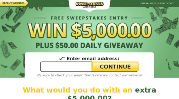 thedailysweepstakes.com