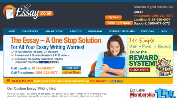 quality essays uk