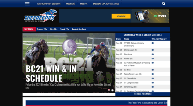 thefreepps com The Free PPs » Free Past Performances for Horseplayers