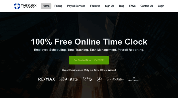 timeclockwizard com Free Online Time Clock & Employee