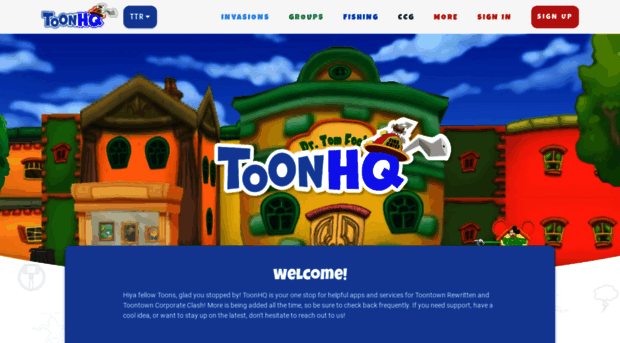 Toontown rewritten hq toon hq for Ttr fishing guide