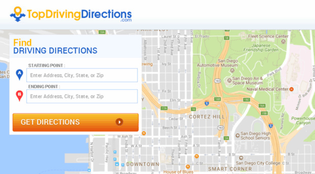 Driving directions mapquest free