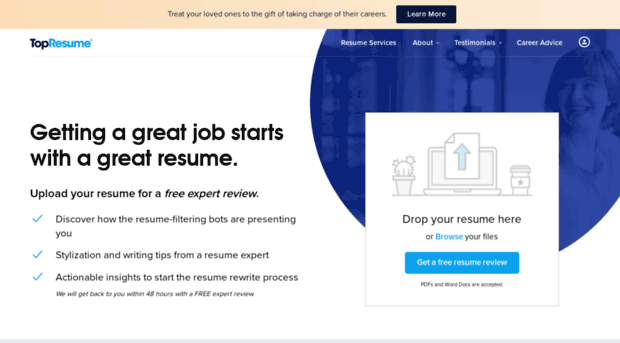 monster resume writing service login
