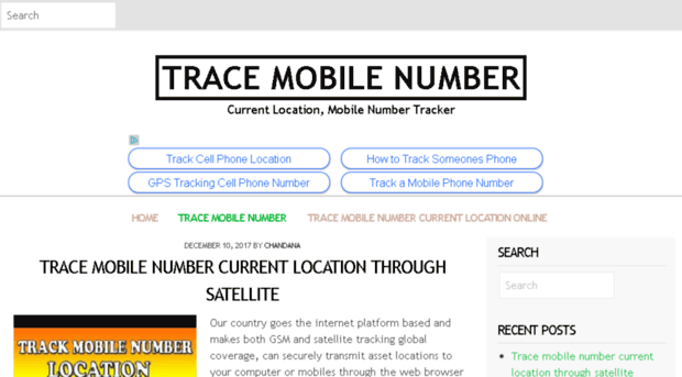 tracenumber co - Trace Mobile Number - Current Location