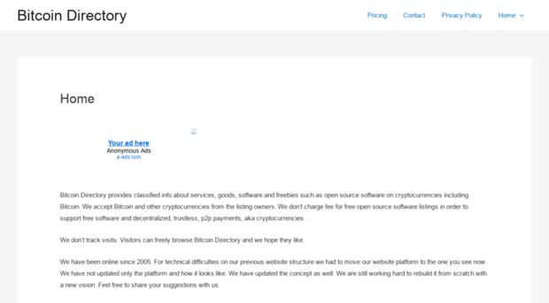 add adult directory url