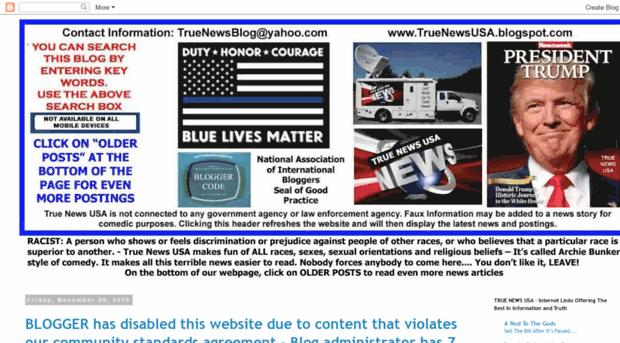 True News Usa >> Truenewsusa Blogspot Com Tr True News Usa