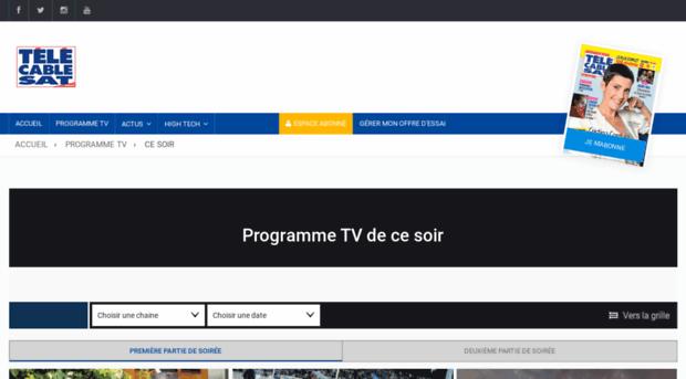 Tv t l c ble sat hebdo tv - Tele cable sat ...