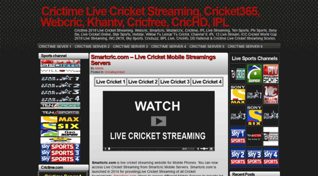 Tvcric Info Crictime Live Cricket Streamin Tv Cric