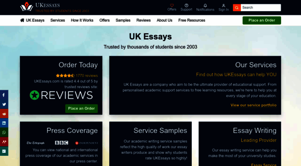 Uk essays reference generator