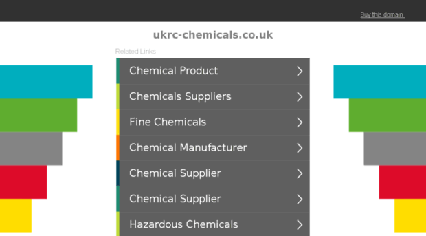 ukrc-chemicals co uk - Ukrc Chemicals
