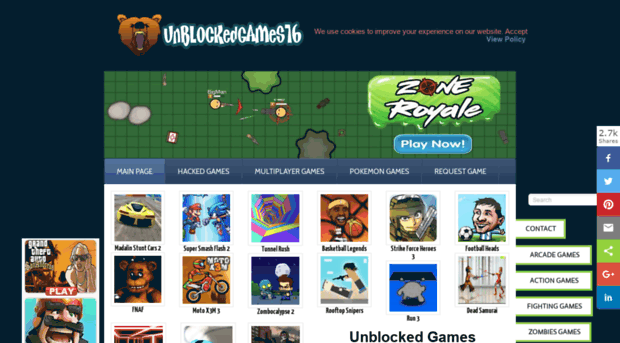 Unblocked games 76