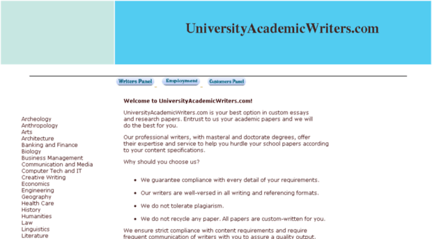 Anthropology online academic writing companies